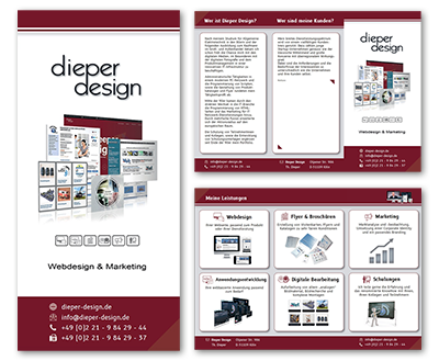 Flyer-Download Dieper Design